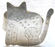 Collectible Cat Napkin Ring, Star Cat