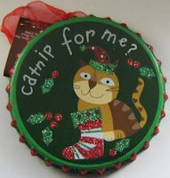 Collectible Cat Ornament, Catnip For Me?