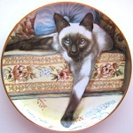 Collectible Cat Plates