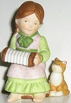 Collectible Cat Figurine, The Heart's Serenade