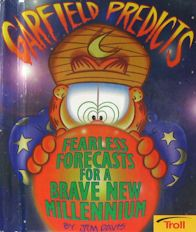 Collectible Garfield Book, Garfield Predicts