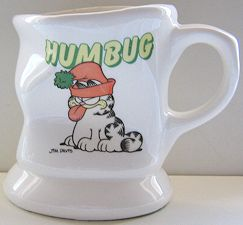Collectible Garfield Mug, Humbug