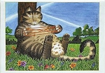 Collectible Kliban Cat Note Cards, Cat's Cradle