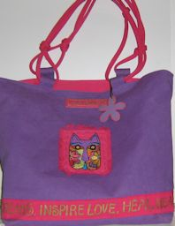 Collectible Laurel Burch Tote, Dreams