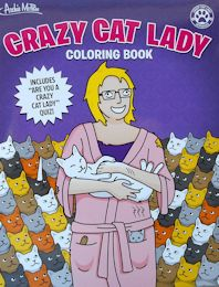 Crazy Cat Lady Coloring Book