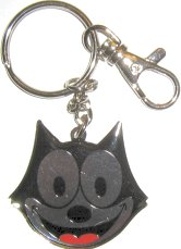 Felix The Cat Key Ring, Felix Face