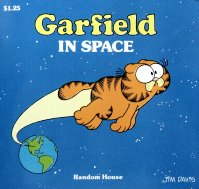 Collectible Garfield Book, Garfield In Space