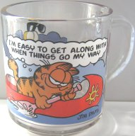 Collectible Garfield Mug, My Way