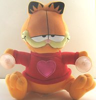 Collectible Garfield With A Heart