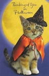 Halloween Card, Thinking Of You