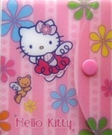 Sample, Hello Kitty Memo Pad With Case
