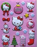 Hello Kitty Christmas Stickers
