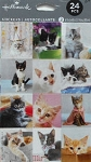 24 Kitten Stickers