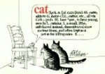 Collectible B. Kliban Book, Cat