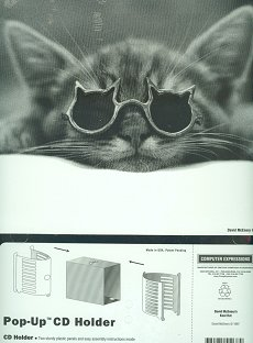 Kool Cat CD Holder