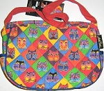 Laurel Burch Cat Purse, Cat Faces