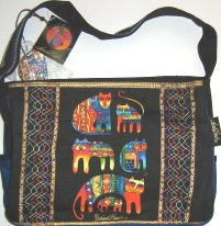 Laurel Burch Cat Handbag Or Purse, Feline Cousins