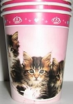 Cat Paper Cups, Glamour Cats
