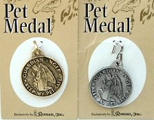 Pet Medal, Silver