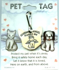 Pet Tag, Guardian Angel