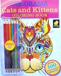 Sample, Cat Coloring Book, Cats And Kittens
