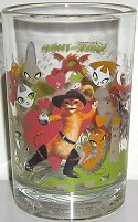 Collectible Shrek The Third Drinking Glass