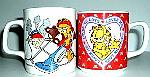 Collectible Garfield Coffee Mugs, Mother's Day and Loves Me