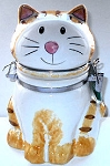 Cat Canister Or Treat Jar