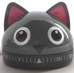 Cat Kitchen Timer