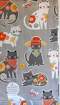 Cat Kitchen Towel, 2 in 1, Cat Patch