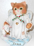 Collectible Calico Kitten, Peace On Earth