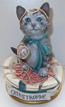 Collectible Cat.Astrophe Sculpture