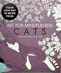 Collectible Cat Coloring Book, Art For Mindfulness