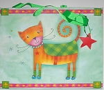 Collectible Cat Gift Bag, Cat Star