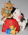 Christmas Cat Ornaments, Cards & Gifts