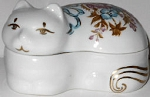 Collectible Cat Trinket Box, Elizabeth Arden