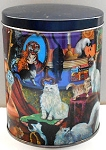 Collectible Cat Tin & Puzzle, 28 Cats