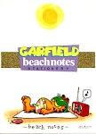 Collectible Garfield Notepad, Beach Notes