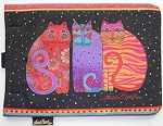 Collectible Laurel Burch Tablet Case, Feline Friends