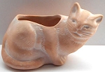 Collectible Mini Cat Planter, Terra Cotta