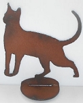 Cat Figure, Iron