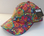 Laurel Burch Ball Cap, Felines In the Garden