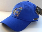 Laurel Burch Ball Cap, Embroidered, Indigo Cats