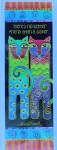 Laurel Burch Cat Bookmark, Sister