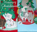 Special, Meowy Christmas Terry Kitchen Towel Set