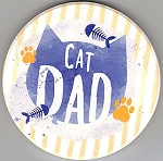 Sample, Car Coaster, Cat Dad