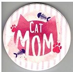 Sample, Car Coaster, Cat Mom