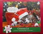 Sample, Christmas Cat Jigsaw Puzzle