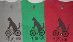 Sample, Cat T Shirt, Feline Fine, L