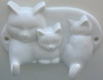 Collectible Avon Cat Wall Hook